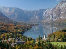 Julian Alps, lake Bohinj