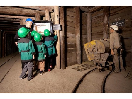 Mercury mine visit