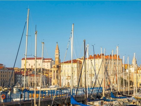 Piran and marina